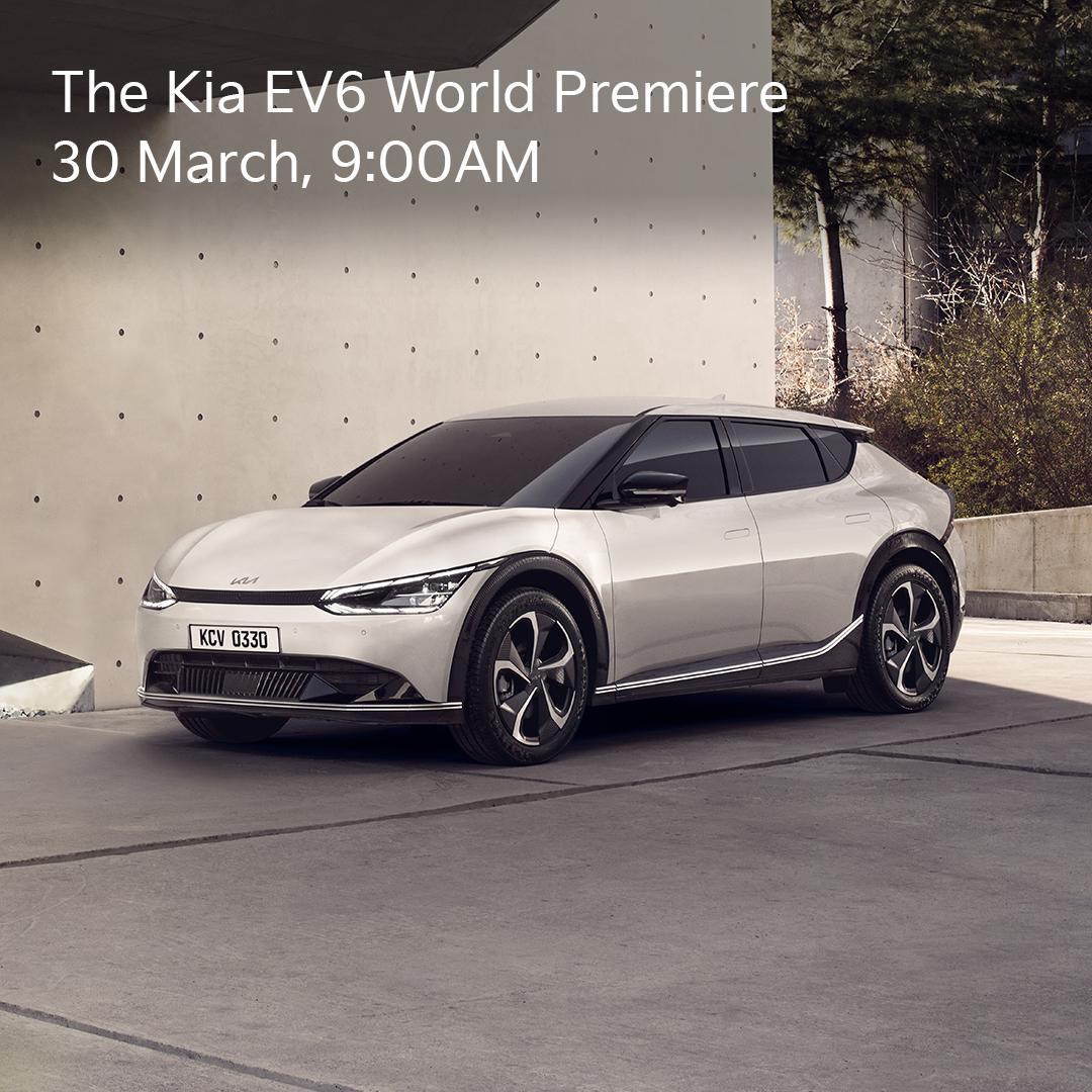 EV6 World Premiere Tuesday 30/03/2021 @ 9am.