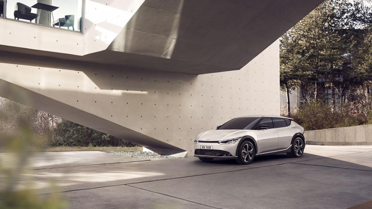 Kia's new electric EV6
